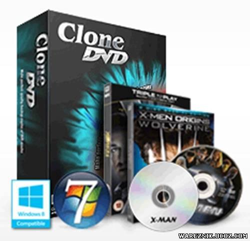 Скачать бесплатно DVD X Studios CloneDVD 6.0.1.2 Final (2012) без регистрац